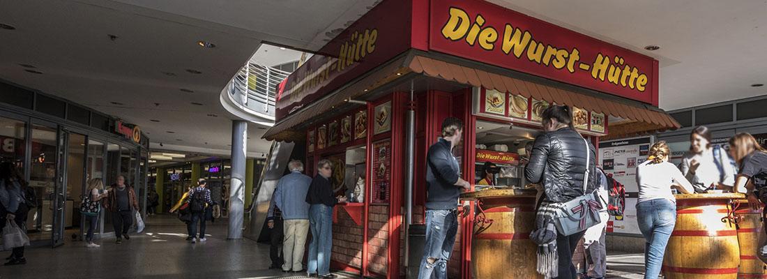 Die Wurst-Hütte Köln Mülheim Galerie Wiener Platz