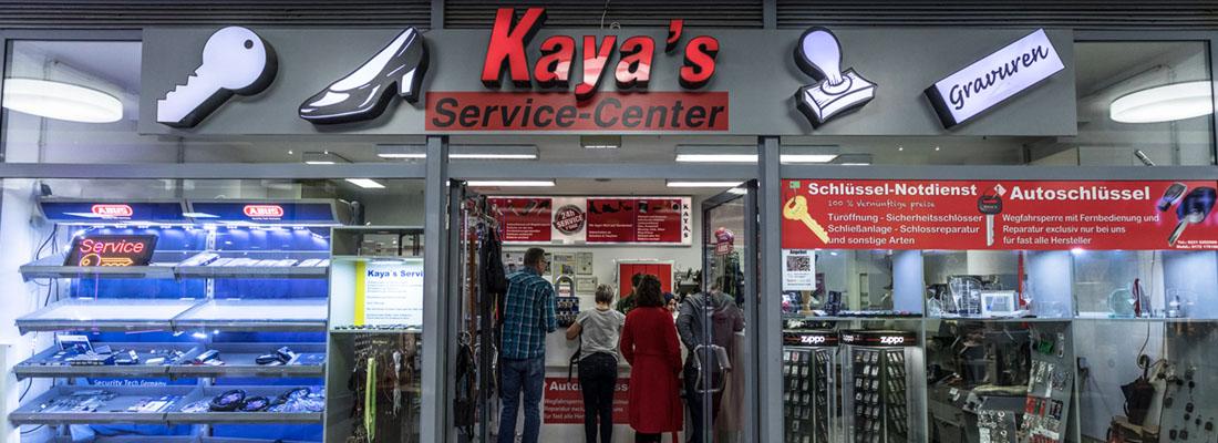 Kayas Schuh und Schluesseldienst Service-Center Galerie Wiener Platz Köln Mülheim