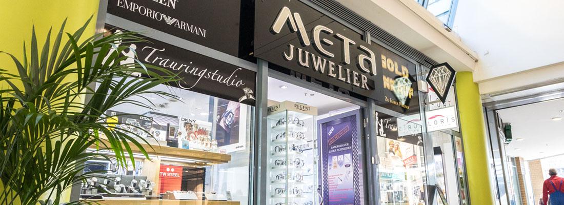 Meta Juwelier Galerie Wiener Platz Köln Mülheim