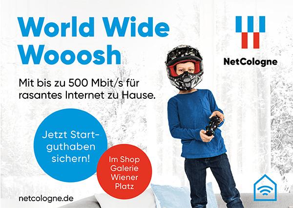 Köln Wiener Platz - Angebote - NetCologne Angebot