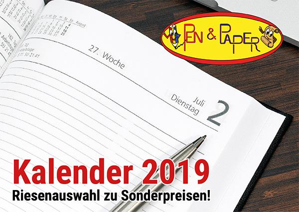 Köln Wiener Platz - Angebote - Pen & Paper Kalender 2019