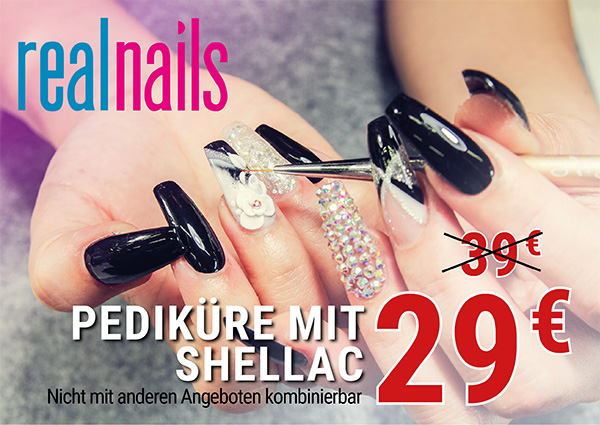 Köln Wiener Platz - Angebote - Real Nails Pediküre