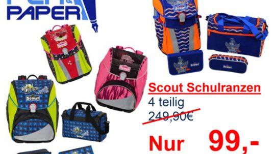 Pen&Paper Scout Schulranzen Angebot