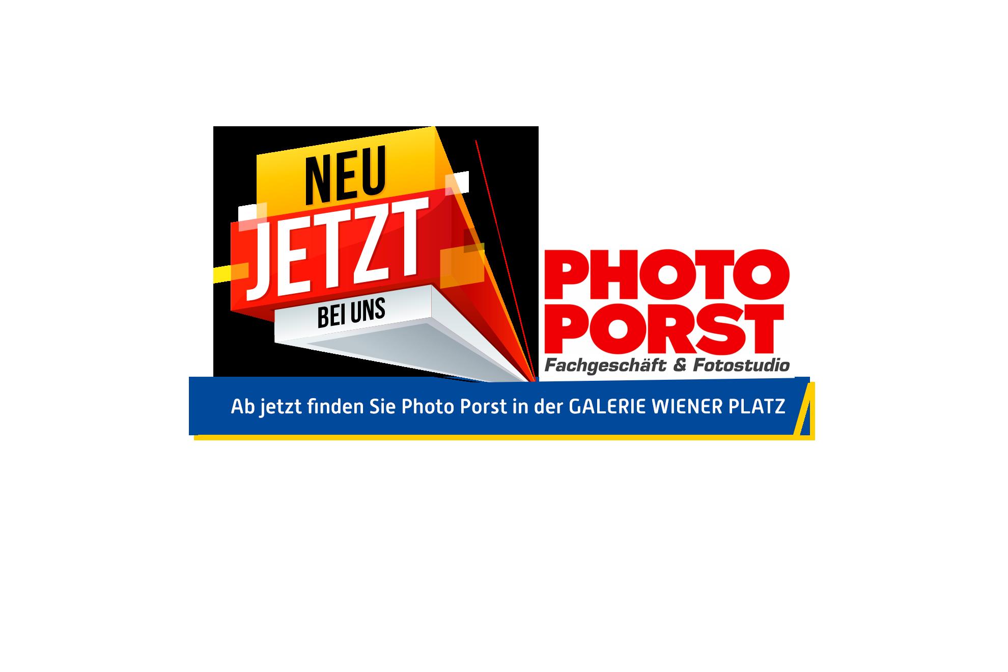 Photo Porst NEU in der Galerie Wiener Platz