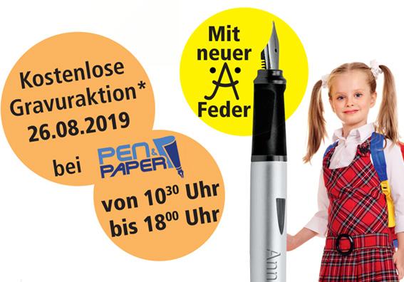 Gravuraktion Pen+Paper Koeln 2019