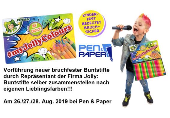 Pen & Paper Aktionen zum Schulanfang
