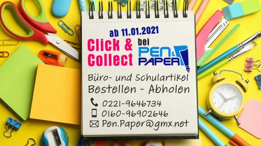 Click and Collect bei Pen and Paper